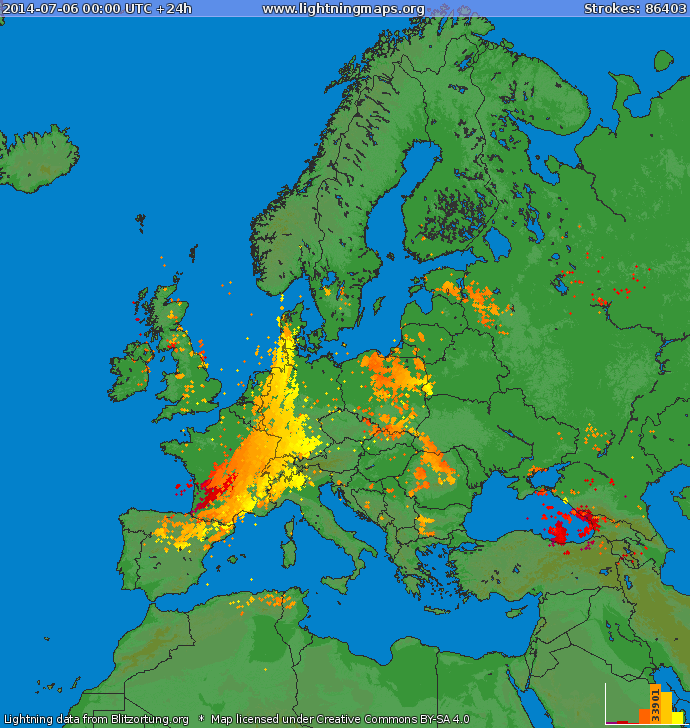 Live Lightning Strike Mapsgreymatters