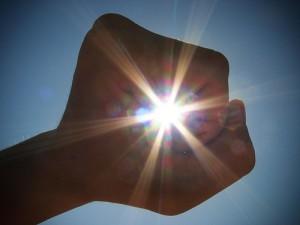 power of the sun