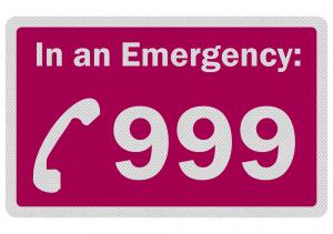 Lightning strike Emergency 999