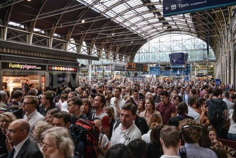 Paddington Station Delays due to Lightning