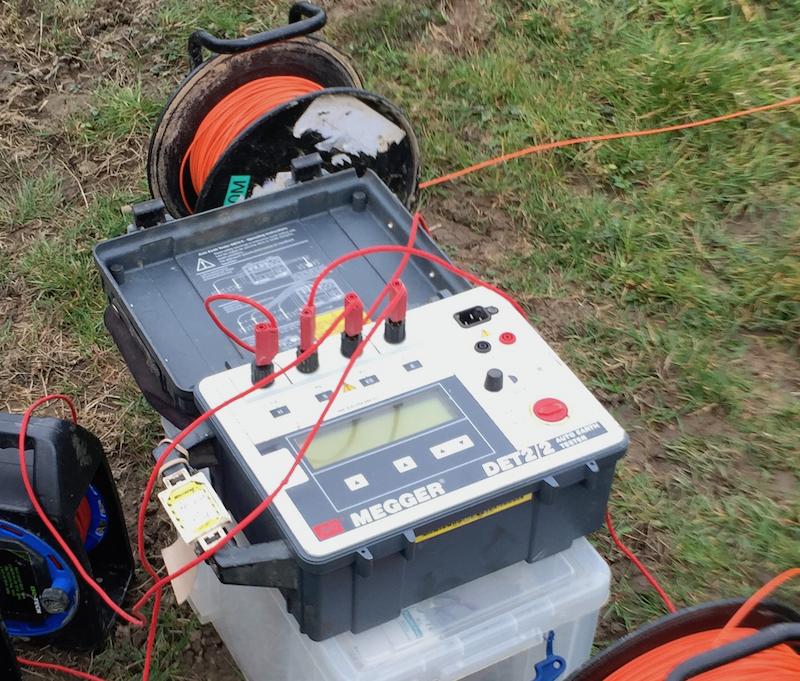 Soil resistivity - Generic Tester - 2.5W