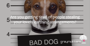Fed up Losing your earthing Arrangements